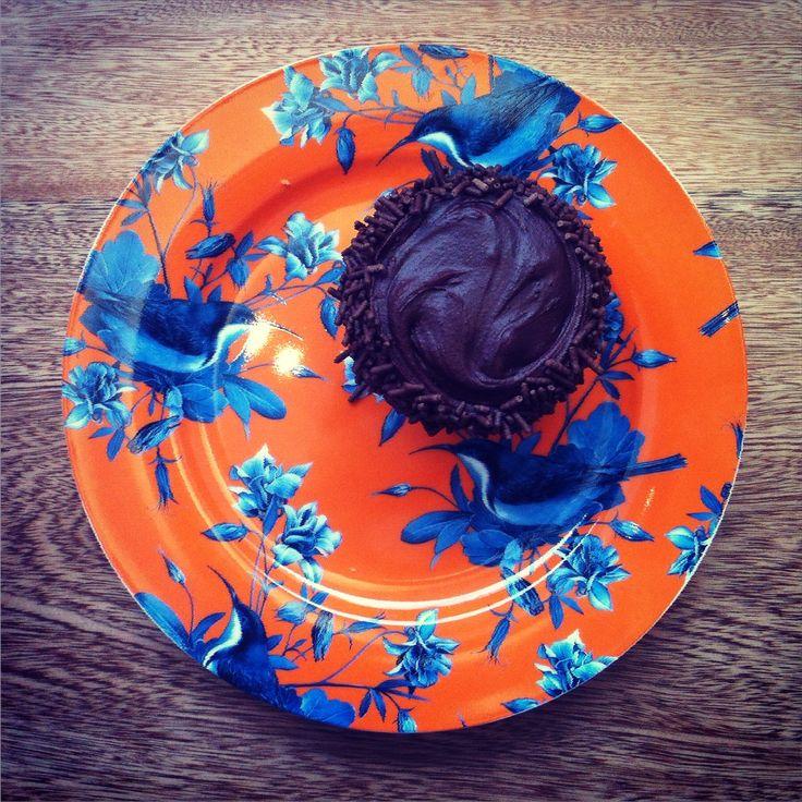 Chocolate Cupcake de Home Baked Cupcakes & Muffins, visítanos en Bogotá, Colombia