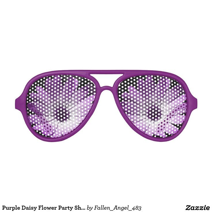紫色のデイジーの花のパーティーの陰