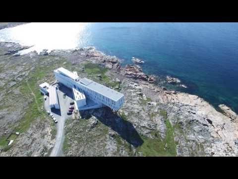 Joe Batt's Arm North Shoreline to Fogo Island Inn - YouTube