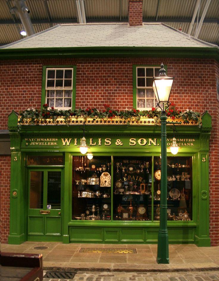 Willis Son Miniature Victorian Shop Dollhouse Ideas