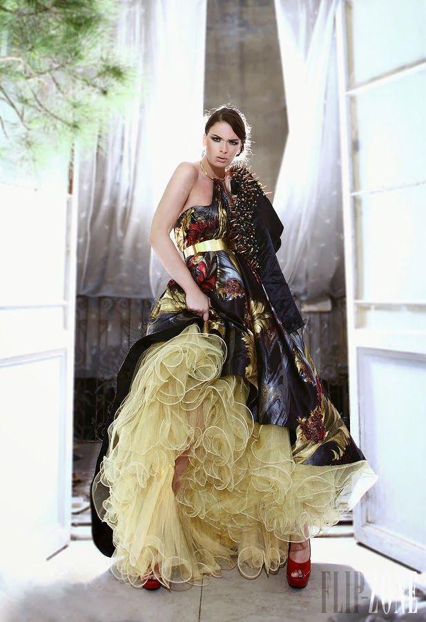 Maravillosos vestidos de noche largos para mujeres elegantes