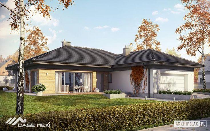 Casa la parter Dominik II G2. Modele de case  in cea mai mare varietate, incepand de la case mici si ieftine, pana la locuinte vile de lux moderne.