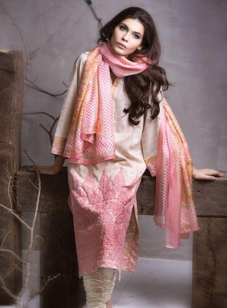 Sana Safinaz Spring Collection 2015
