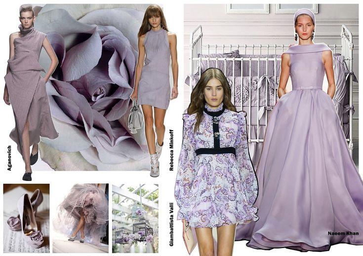 Color trends Spring 2016 - Lilac Grey / Divatszínek 2016 tavasz - Lilásszürke