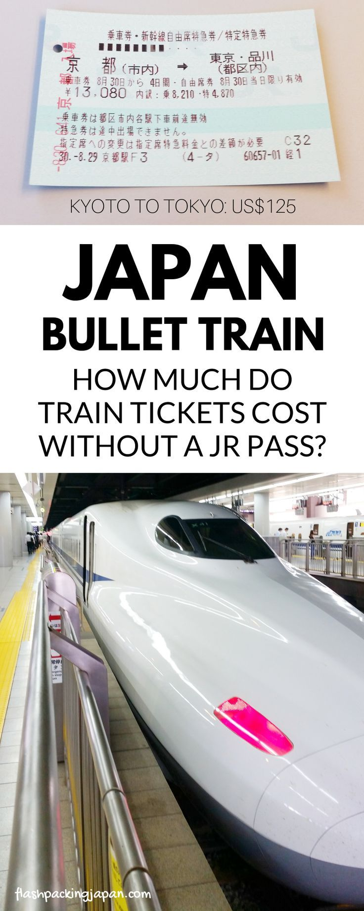 Does The Jr Pass Really Save Money On Japan Bullet Train Tickets Is It Worth It Flashpacking Japan Tren Estacionamiento Fotografia