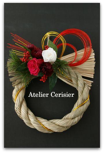 『お正月飾りにモダンなしめ縄が人気です!』