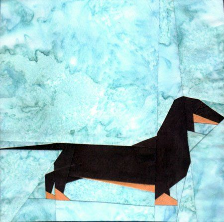 silver linings canine corner dachshund (smooth)