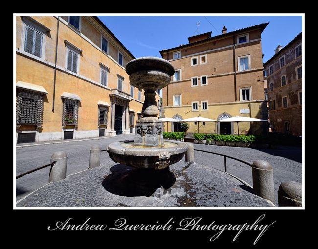 Fontana di piazza San Simeone  by andrea quercioli