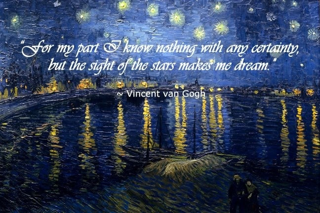 i never knew Vincent and i had so much in common.