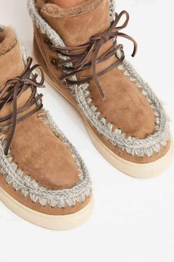 Mou Lace-Up Sneaker Boot   Sneaker