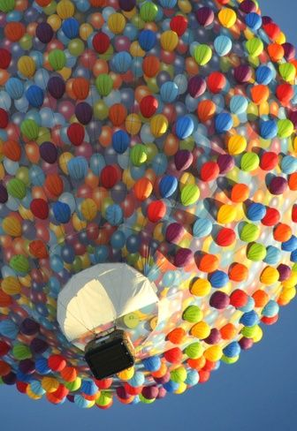 Balloon balloon at the Balloon Festival in Ottawa, ON. Photo by Peter Reichert.