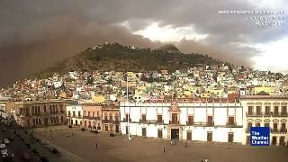Huge Dust Storm in North-Central Mexico