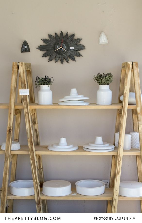Neat moveable kitchen shelves? I tend to get bored and like to move my things around a lot, but I also like to see my things on display.
