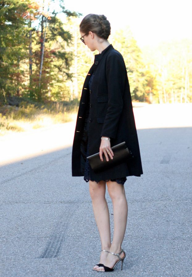 Wedding guest attire 2 coats cold weather and cas for Wedding guest dresses for cold weather