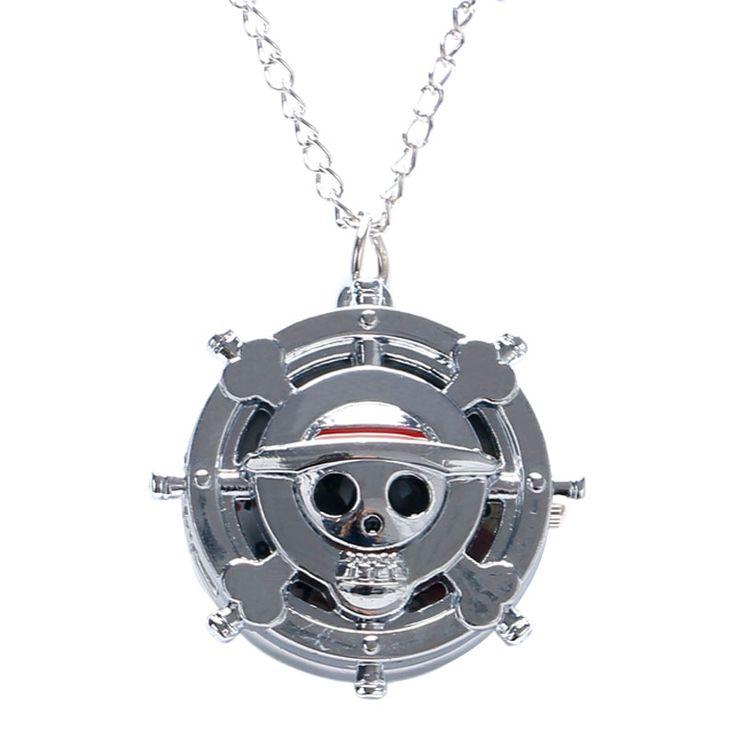 $2.81 (Buy here: https://alitems.com/g/1e8d114494ebda23ff8b16525dc3e8/?i=5&ulp=https%3A%2F%2Fwww.aliexpress.com%2Fitem%2FOne-Piece-Theme-Skull-Bone-Design-Quartz-Pocket-Watch-With-Necklace-Chain-Gift-To-Children%2F32651267502.html ) One Piece Theme Skull Bone Design Quartz Pocket Watch With Necklace Chain Gift To Children for just $2.81