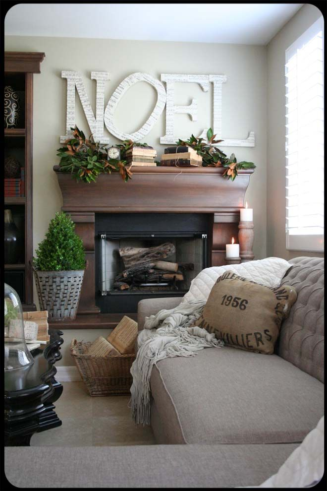 I love how understated the Christmas decor is. I could live with this all year round! Beautiful job.