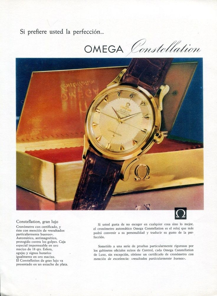 advertising strategies of omega watches Innovative products bring joy, create new lifestyle and pave the way for related economies - especially, if they have been developed by casio experience how creativity becomes contribution.
