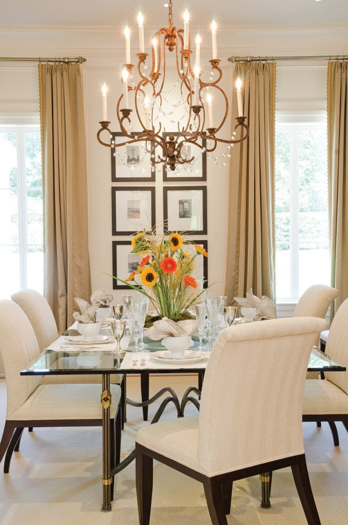Best 25 formal dining table centerpiece ideas on - Living room with dining room designs ...