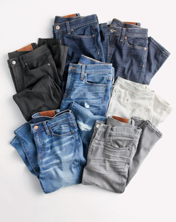 Our best-selling J.Crew women's toothpick jeans. Making tushes look great since 2007.