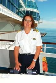 Karin först i världen som kvinnlig kapten   Kryssningar   Resa   Aftonbladet