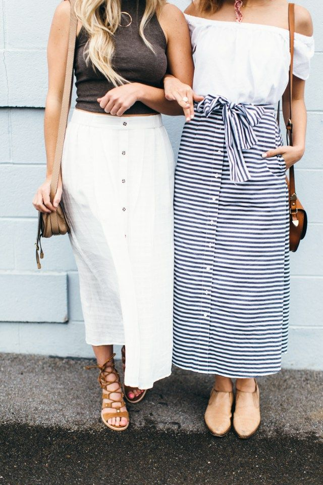 How to Style Midi Skirts for Petite Girls | Thetique