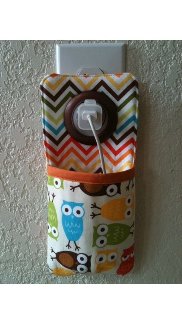 Phone charger pouch- DIY idea