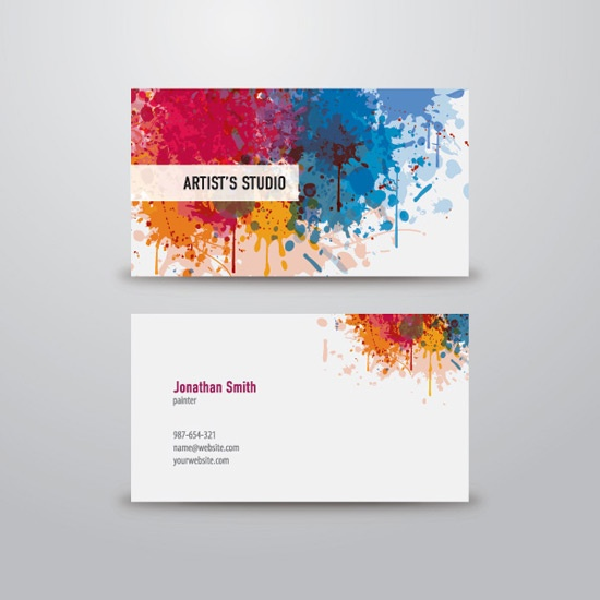 100 Free Business Card Templates | designrfix.com