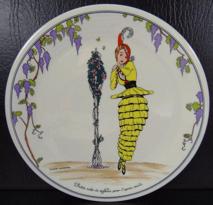 Villeroy & Boch Design 1900 Luncheon Salad Plate Petite Robe #VilleroyBoch