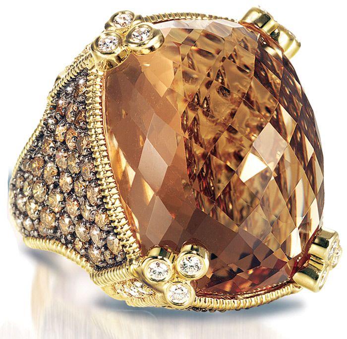 Judith Ripka Monaco ring.