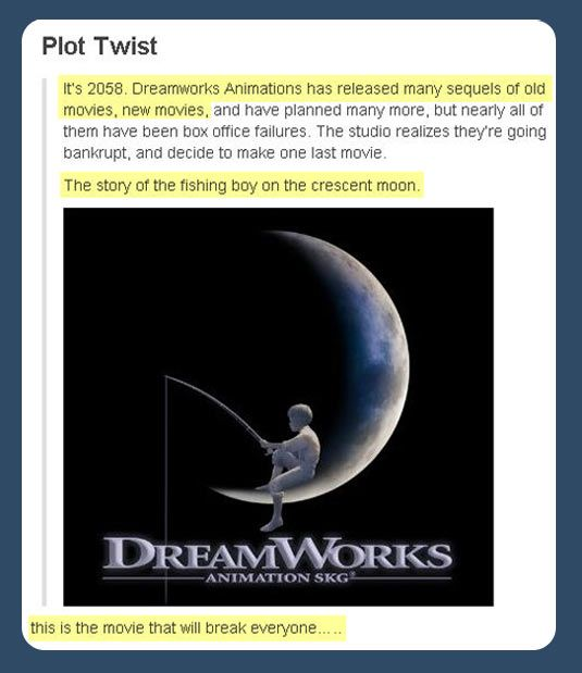 Well I'm already crying so yeah, it's definitely the movie that will break everyone.