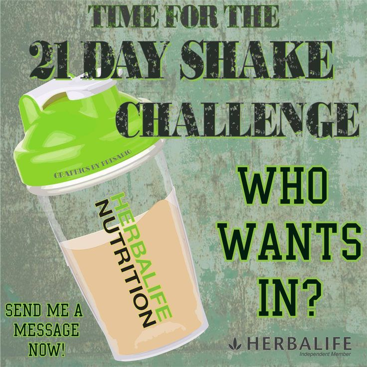 55 best 21 Day Herbalife Shake Challenge images on Pinterest ...