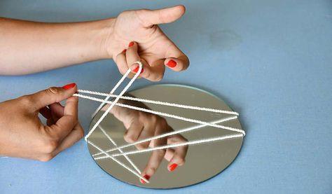 DIY pour fabriquer des miroirs suspendus en macramé – DIY macramé facile – 18h39.fr