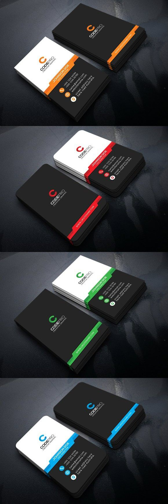 Best 25 vertical business cards ideas on pinterest business vertical business card business card templates magicingreecefo Gallery