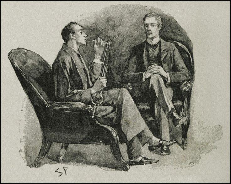 17 best Sidney Paget Illustration images on Pinterest Sherlock - dr watson i presume
