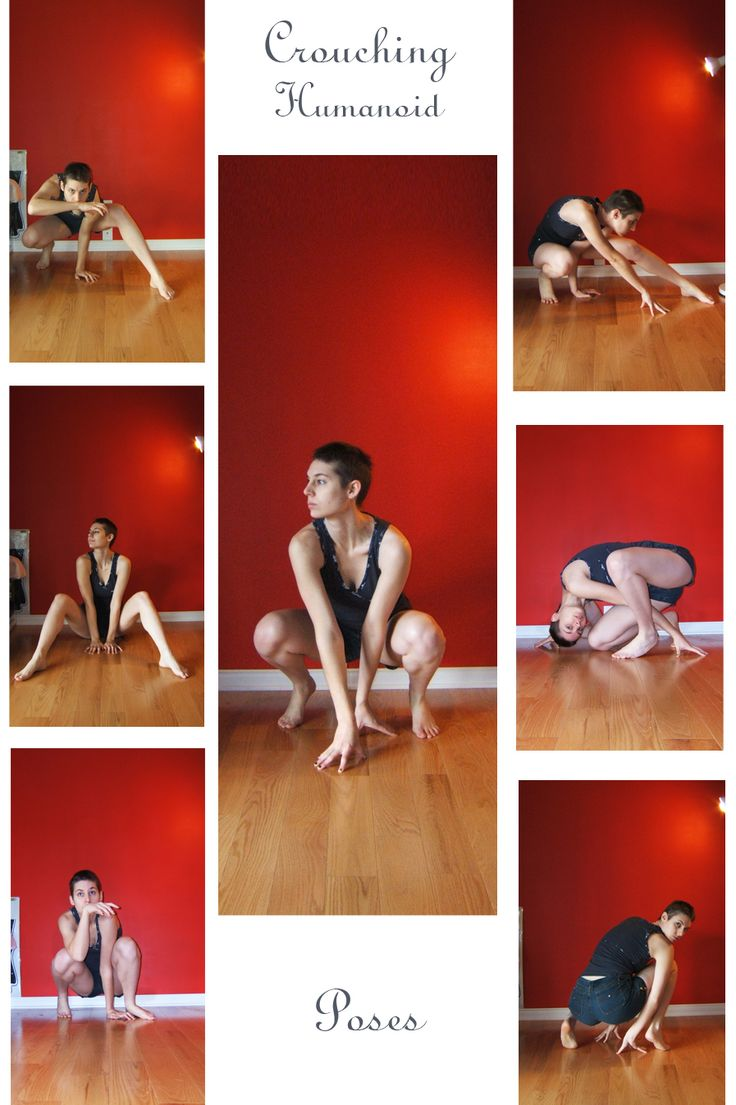 STOCK - Crouching Humanoid by LaLunatique.deviantart.com on @deviantART