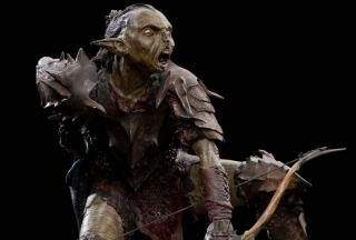 The Lord of the Rings: The Fellowship of the Ring - Moria Orc Archer Figure by Roger Lewis Weta Workshop