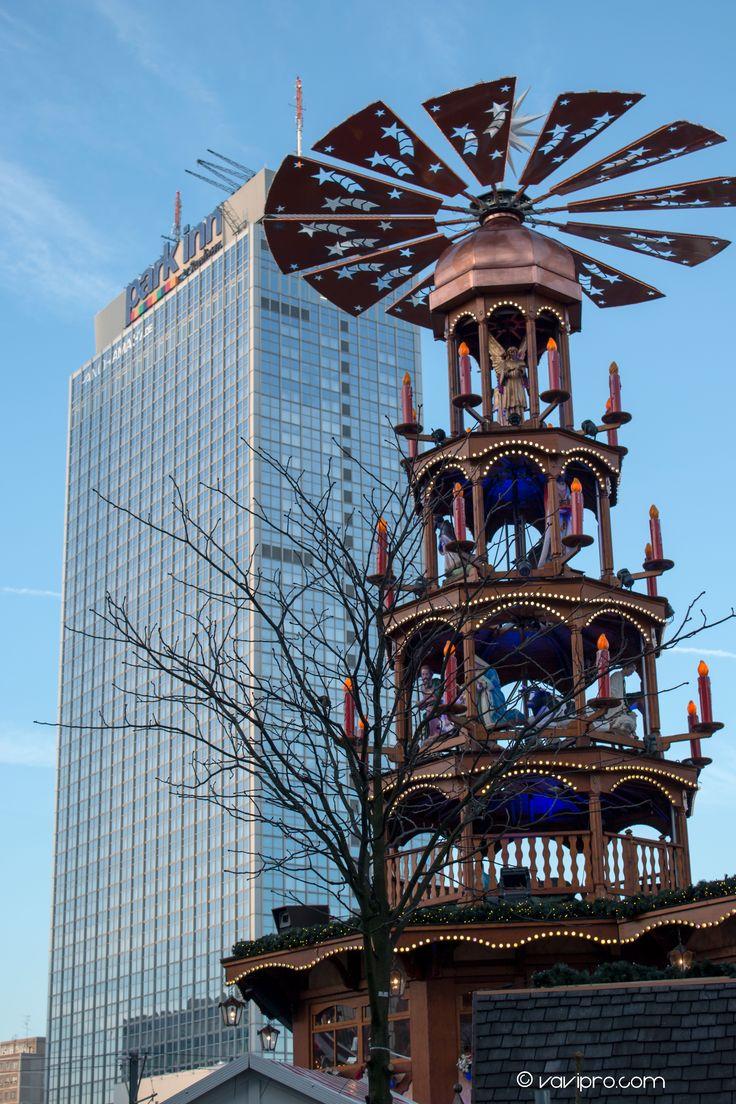 Berlin, Weihnachtsmarkt Alexanderplatz