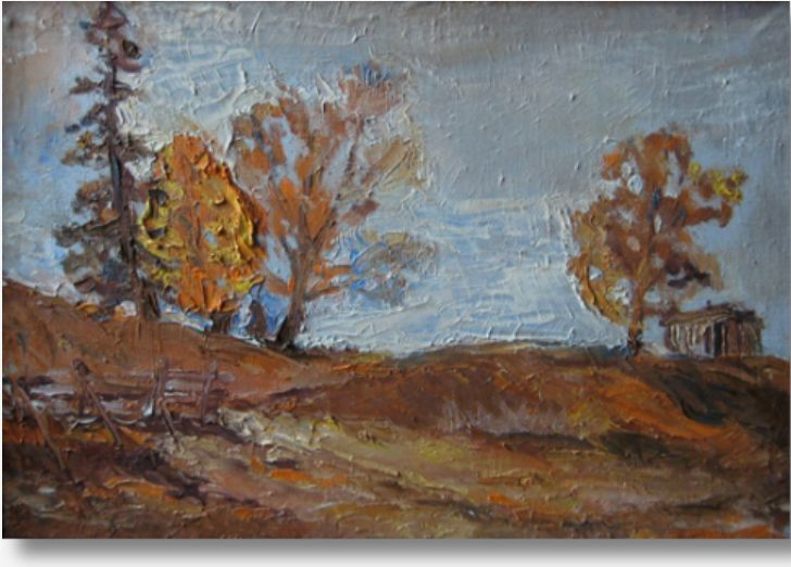 Александр Мошков - живопись,  Осень