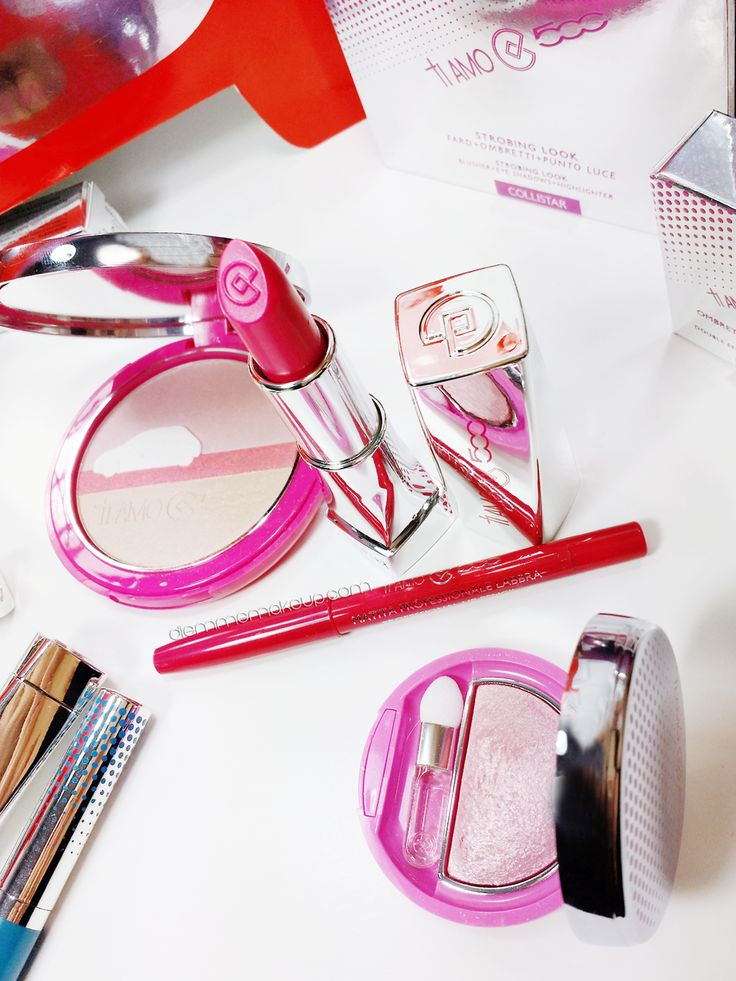 Review Collezione Makeup #TiAmo500 by @diemmemakeup