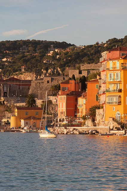 #CoteD'Azur Villefranche-sur-Mer at Dawn, France - by Mark Fischer