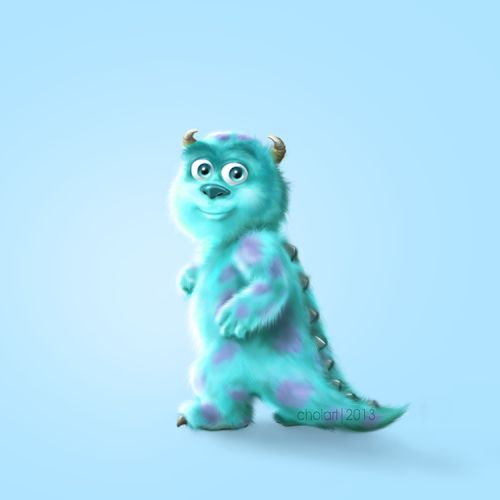sullivan baby monster inc - Buscar con Google