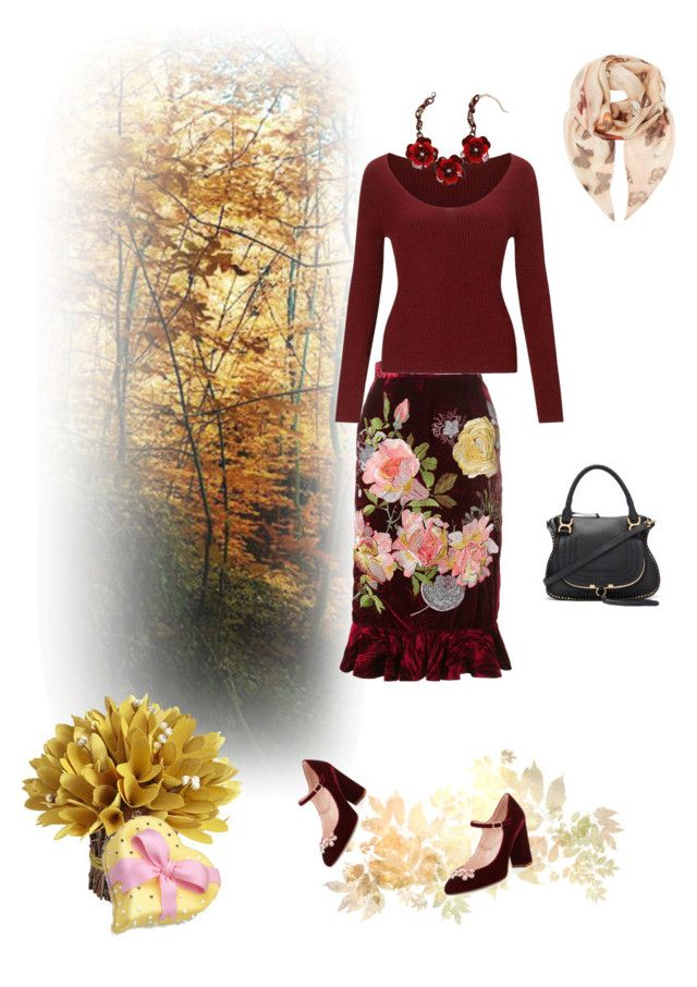 """""""Retro"""" by murenochek ❤ liked on Polyvore featuring Alice Archer, Miss Selfridge, Givenchy, Kate Spade, Bebe, Pier 1 Imports and Chloé"""