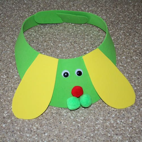 17 best images about hats kids can make on pinterest for Dog craft ideas