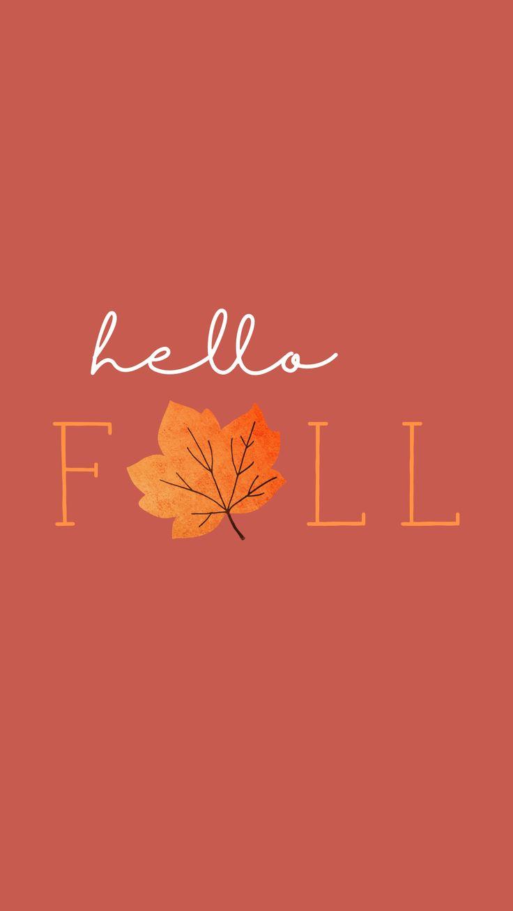 Hello Fall Phone Wallpaper Lynn Meadows Photograph…