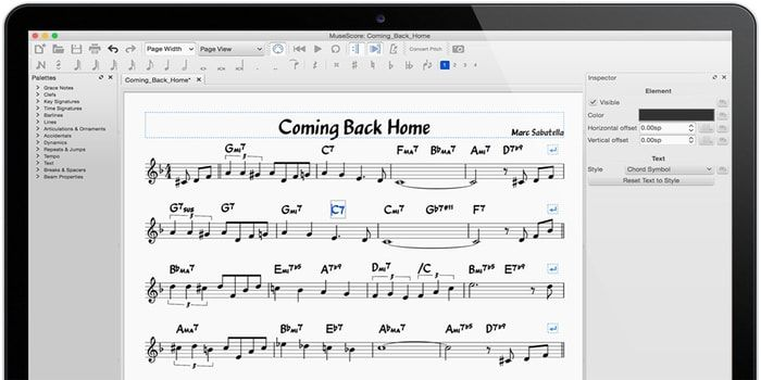 Musescore A Free Open Source Music Notation Software For Linux