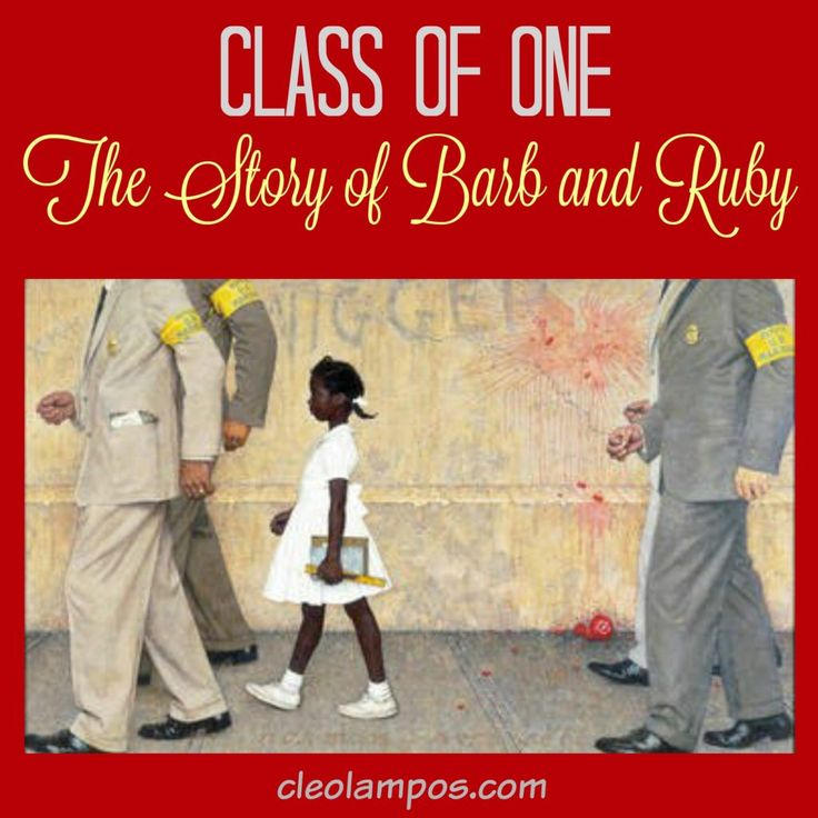 Ruby Bridges - Nothing prepared Barbara Henry for the mob scene she navigated to get into Frantz Elementary School on November 14, 1960. On that day, court ordered integration of the New Orleans Public Schools officially began. http://cleolampos.com/class-of-one-the-story-of-barb-and-ruby/