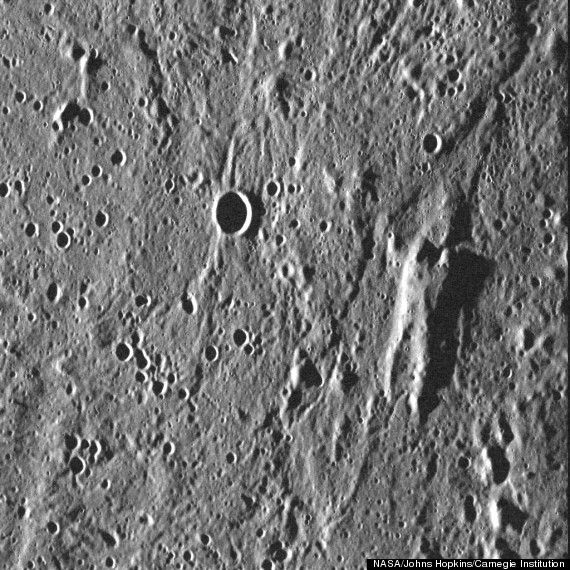 NASA Probe Finds Han Solo On Surface Of Mercury (PHOTO)