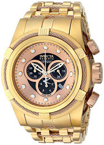 Invicta Men's 12739 Bolt Analog Display Swiss Quartz Gold Watch...