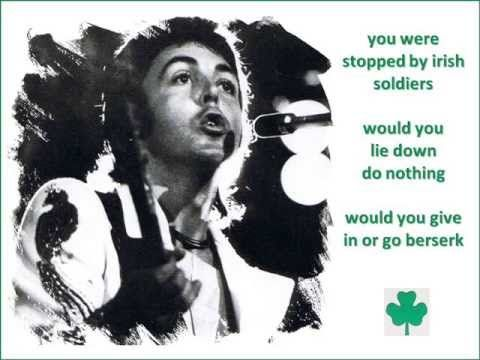 Sir Paul McCartney & Wings - Give Ireland Back To The Irish [New Master Exp.] [HD] - YouTube