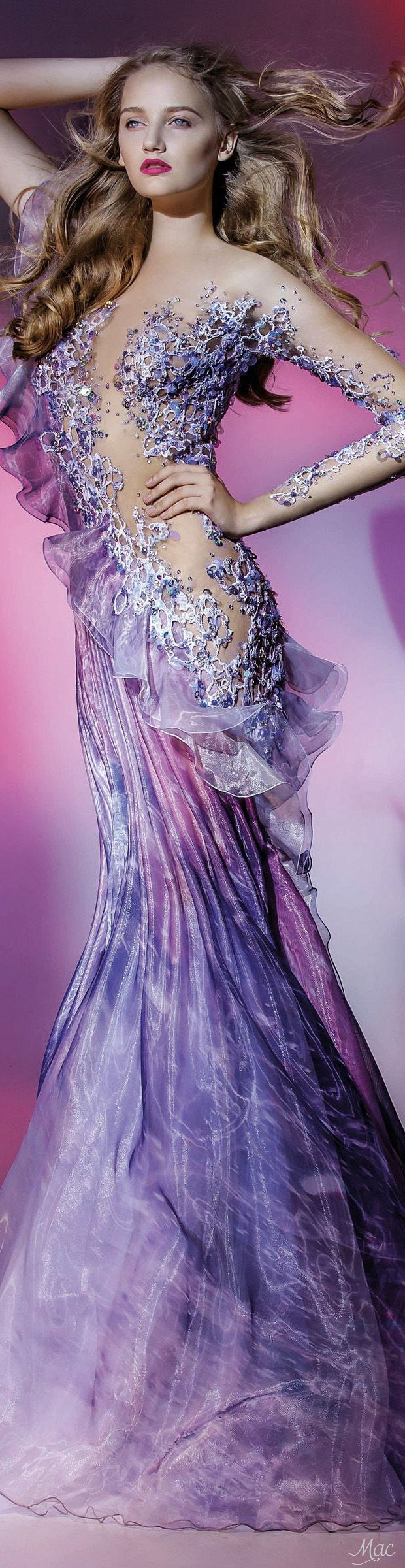 "Fall 2016 Haute Couture - Blanka Matragi ""Elements: Air"", 2017 Collection"